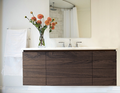 Cedar - Bathroom Vanity - Detail